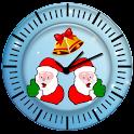 Santa Clock HD