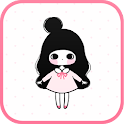 Pink Ribbon go launcher theme icon