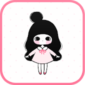 Pink Ribbon go launcher theme