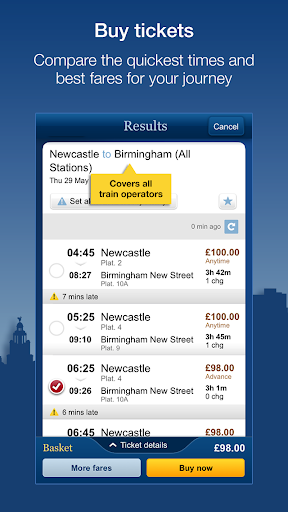 National Rail Enquiries  screenshots 4
