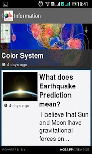 Earthquake Prediction screenshot 14