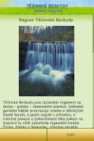 Screenshot of Těšínské Beskydy / Słąsk Ciesz