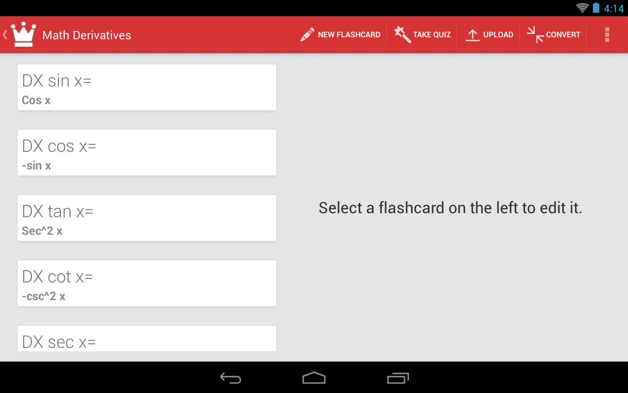 Flash King: Flashcard Maker - screenshot