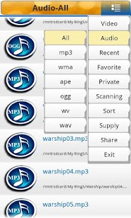 Best Mp3 Mp4 Media Player - screenshot thumbnail