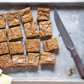 Molasses Blondies