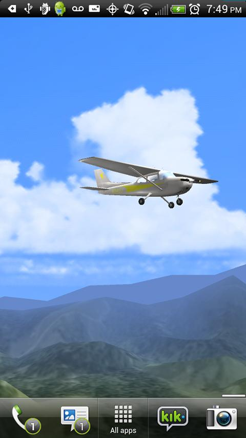 Aviation 3D Free - Light Plane- screenshot