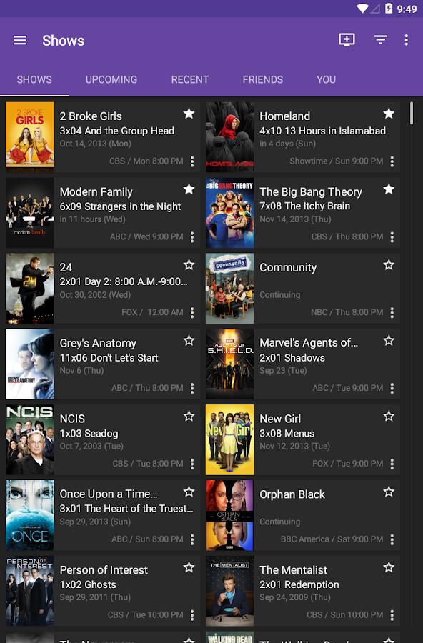 SeriesGuide X Pass - screenshot