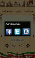 Screenshot of Italian Riddles Pro