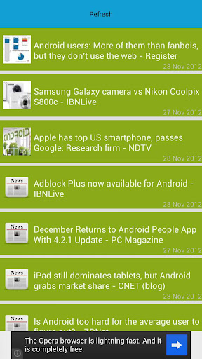 Update for Android (info) - Software up to date 2.0.127.1 screenshots 5