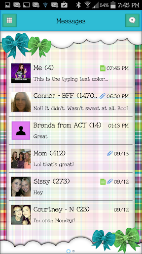 GO SMS - SCS226