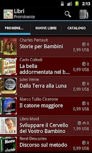 Libri e Audiolibri in Italiano- screenshot thumbnail