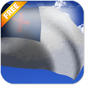 Christian Flag LWP Free icon