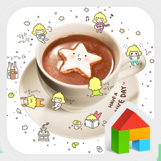 Coffee dodol launcher theme LOGO-APP點子