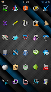 Cobalt Icon Pack screenshot 5
