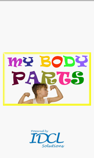 Kids Learning My Body Parts