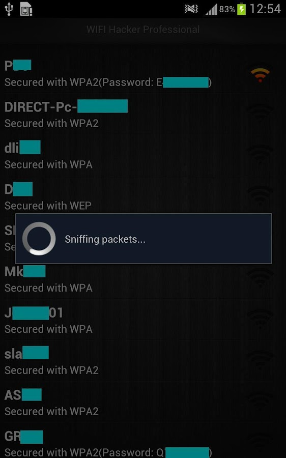 WiFi Hacker App is also available for
