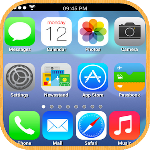 iPhone iOS 7 Launcher