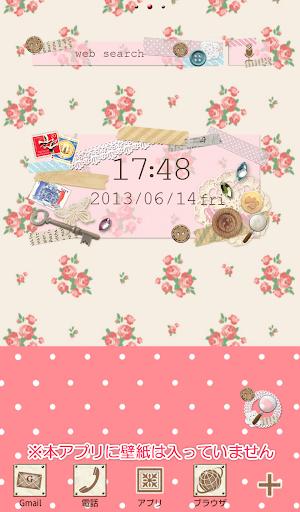 Cute Clock Widget u3010FREEu3011 1.2.0.2 Windows u7528 5