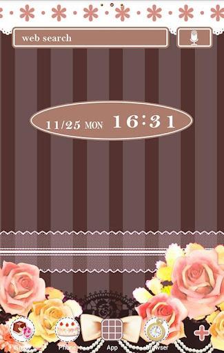 Chic Wallpaper Chocolate Rose 1.1 Windows u7528 1