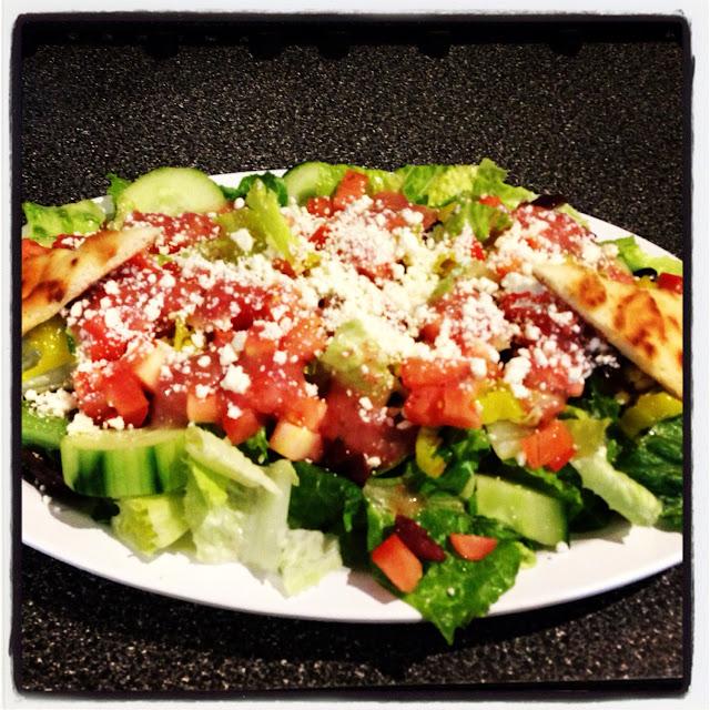Awesome Greek Salad.