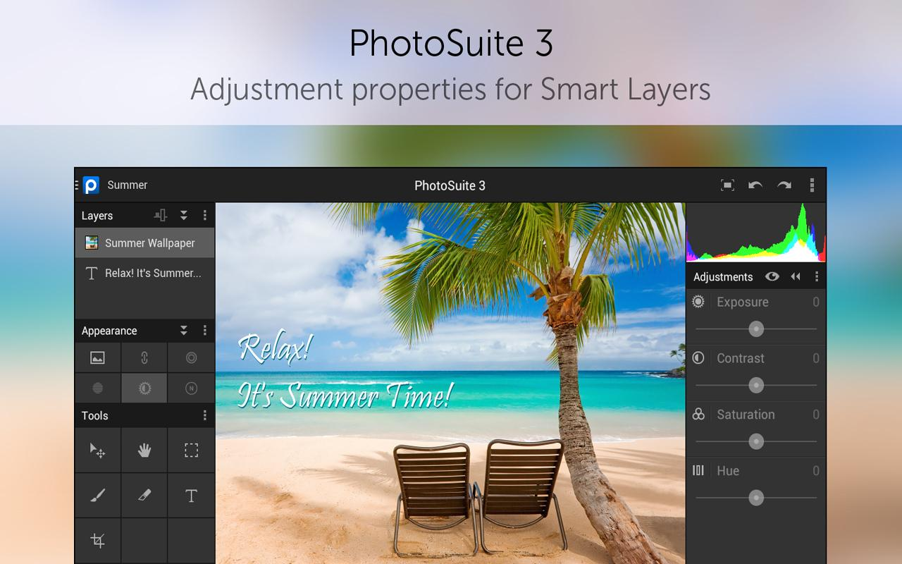 PhotoSuite 3 Photo Editor - screenshot