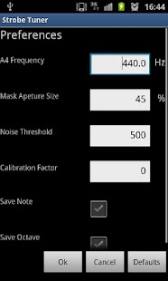 Stroboscopic Tuner - screenshot thumbnail