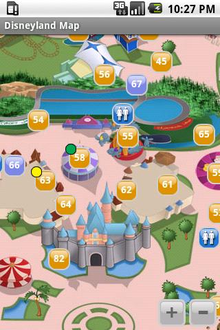 Disneyland California Maps- screenshot