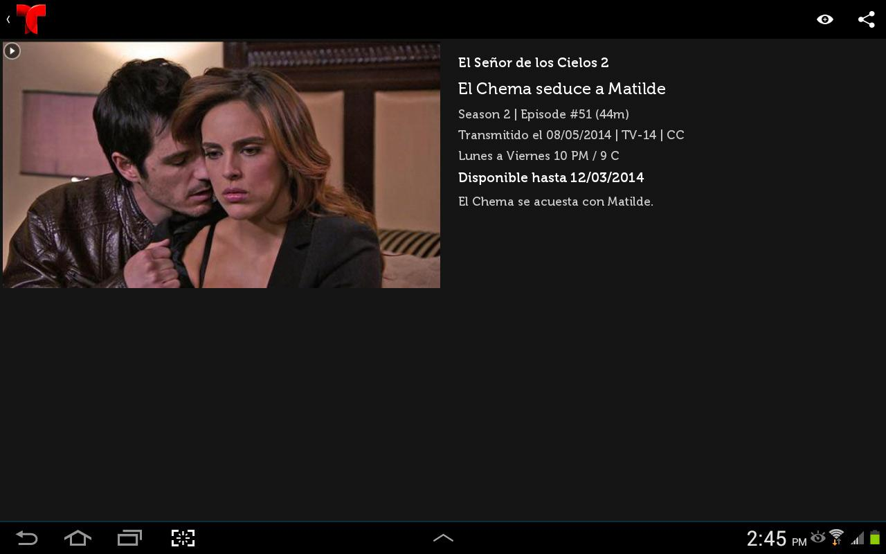 Telemundo Now - screenshot