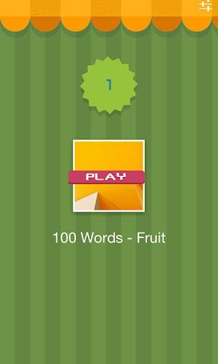 100 Words - Fruit