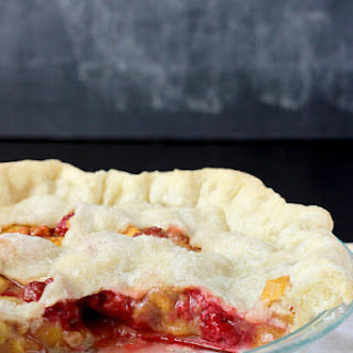 Peach Raspberry Pie