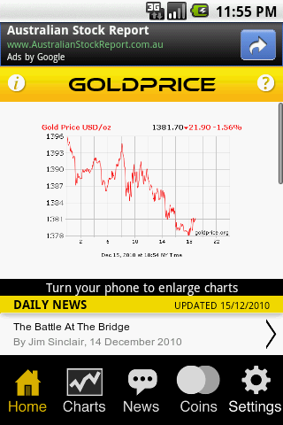 Gold Price Live - screenshot