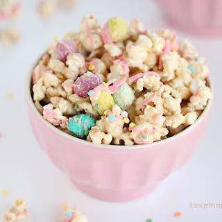 Cookie Butter Popcorn.