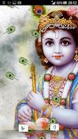 Screenshot of Lord Krishna Live Wallpaper