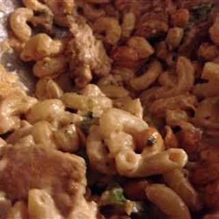 Marinated Chicken and Pasta Salad.