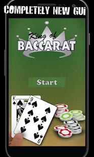 King of Baccarat screenshot