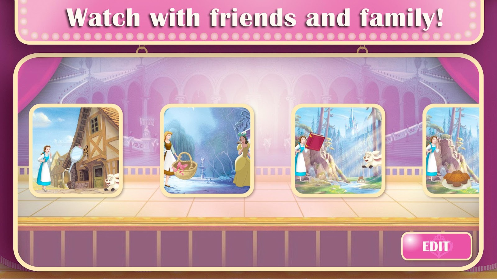 Disney Princess: Story Theater- スクリーンショット