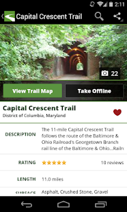 TrailLink - Trails & Maps- screenshot thumbnail