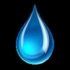 Wassertropfen Live-Hintergrund icon