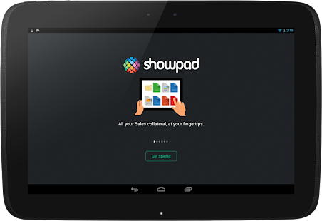 Showpad - screenshot thumbnail