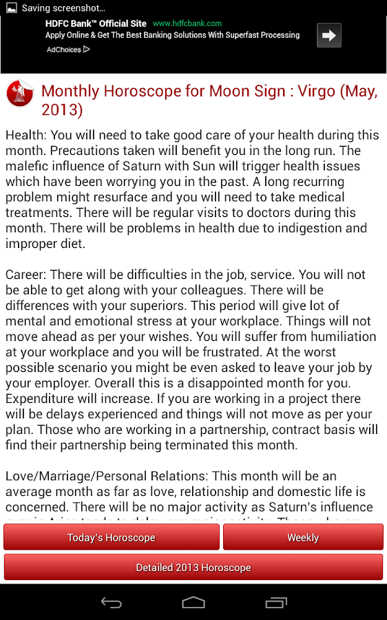 Horoscope 2014 FREE - screenshot