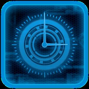 Blueprint tech clock widget android apps on google play blueprint tech clock widget malvernweather Gallery