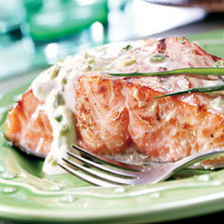Honey Mustard Salmon.