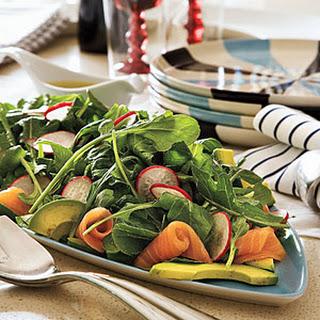 Smoked Salmon Salad Avocado Recipes.