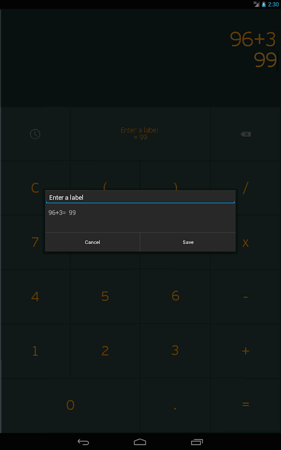 Calculator Remember- screenshot