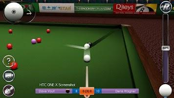 Screenshot of International Snooker Pro HD