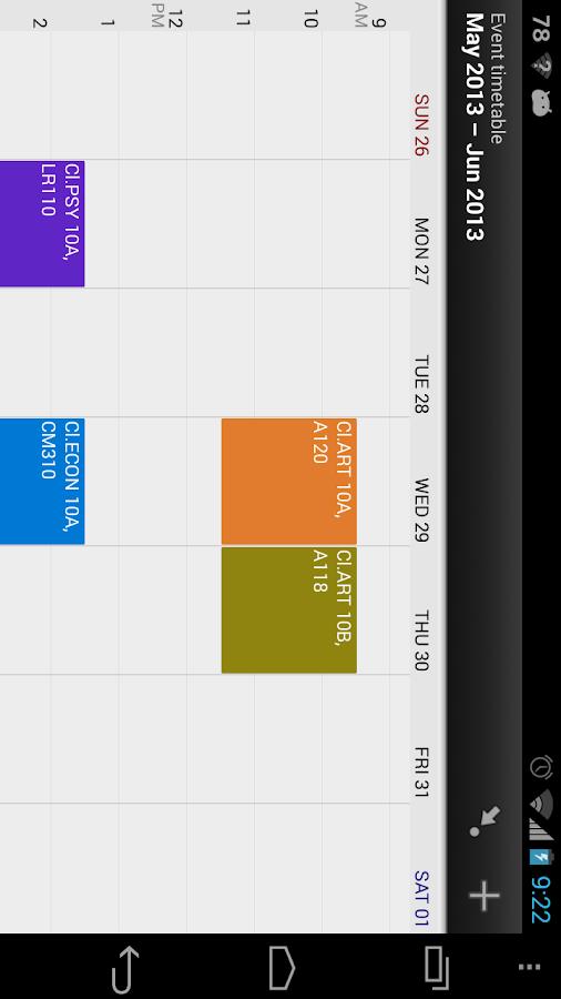 Class Buddy: Student planner- screenshot