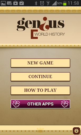 Genius World History Quiz