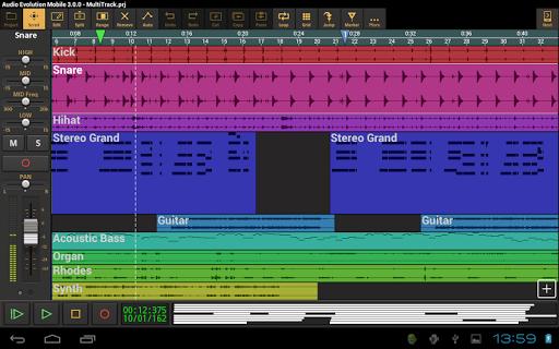 Download Audio Evolution Mobile Studio MOD APK 9