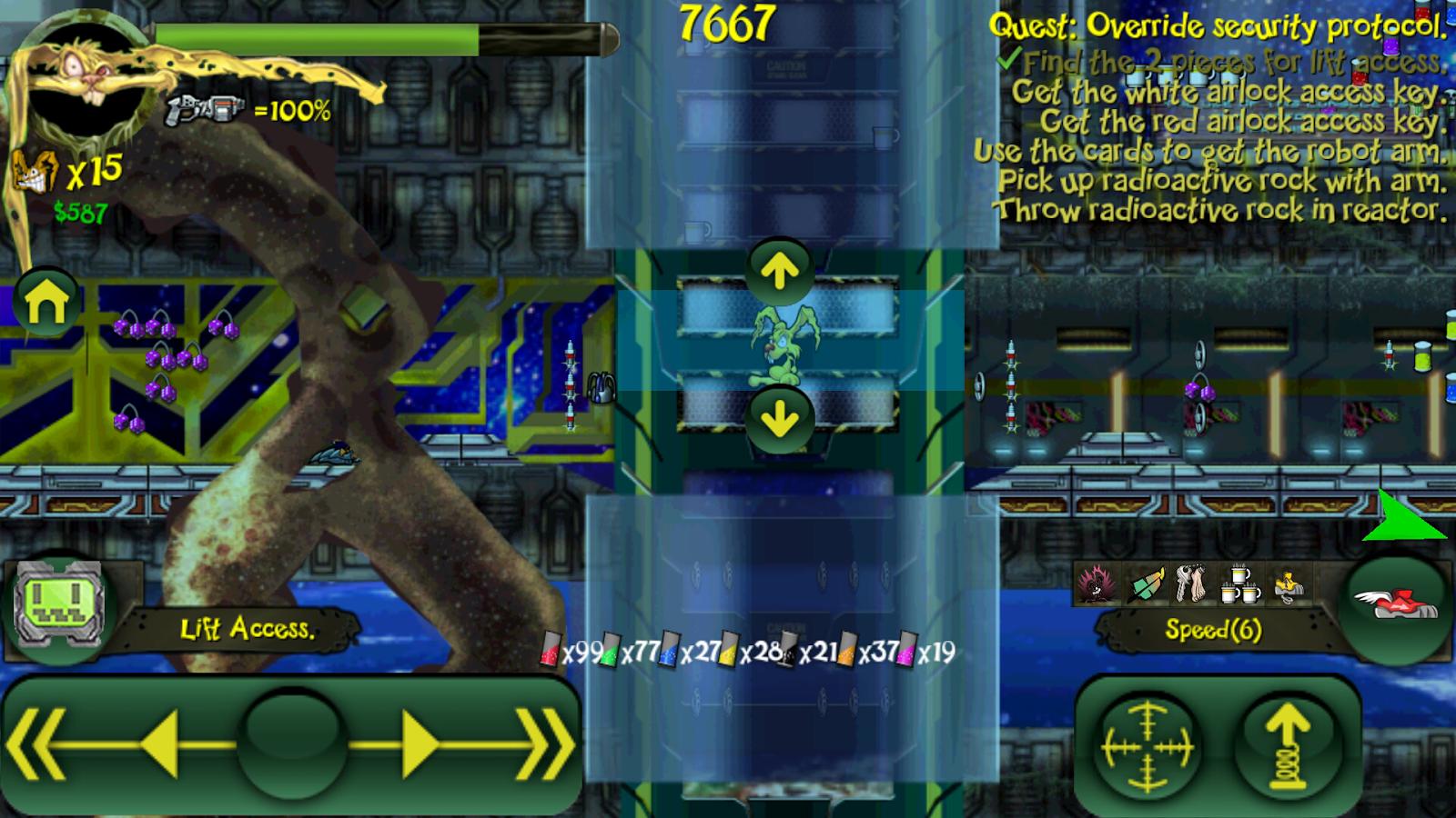 Toxic Bunny HD - screenshot