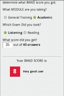 IELTS Score Calculator – Apps on Google Play